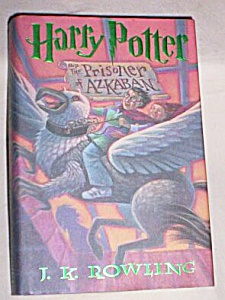 Harry Potter Prisoner Of Azkaban First American Edition