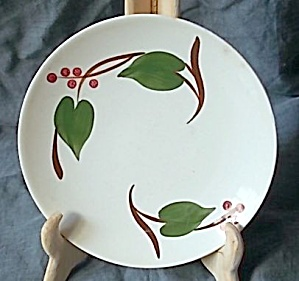 Blue Ridge Pottery Bread Butter Plate Stanhome Ivy