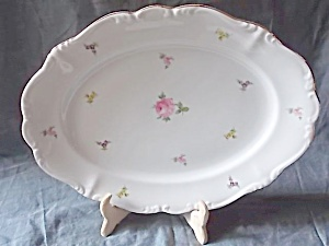 Johann Haviland Serving Platter Tiny Flowers