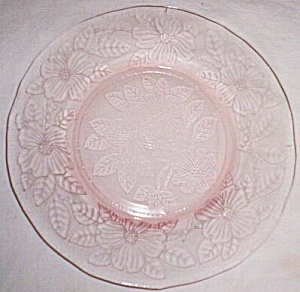 Macbeth-evans Pink Dogwood Luncheon Plate