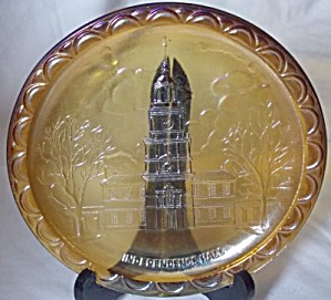 Indiana Independence Hall Carnival Plate