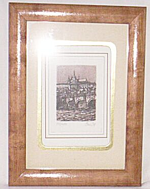 Original Numbered Artist Signed Miniature Picture