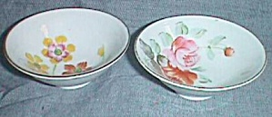 2 Small Bowls Occupied Japan