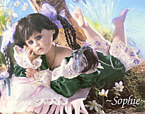 Cottage Collectibles Porcelain Artist Doll Sophie