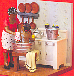 Sandy Dolls And Figurines African American Bathing