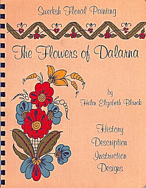 Swedish Floral Painting: The Flowers Of Dalarna