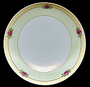 Gorgeous Hand-painted Floral Meito Plate