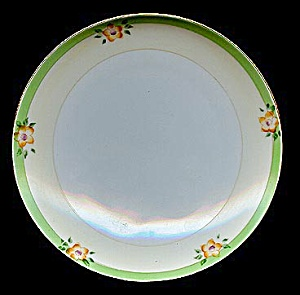 Pretty Hand-painted Floral Meito Plate