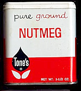 Tone's Nutmeg Tin