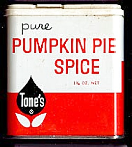 Tone's Pumpkin Pie Spice Tin