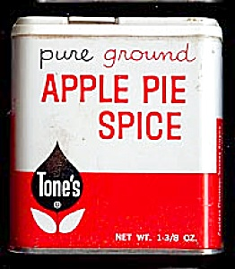 Tone's Apple Pie Spice Tin