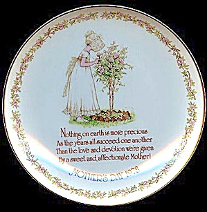1978 Holly Hobbie Mother's Day Plate