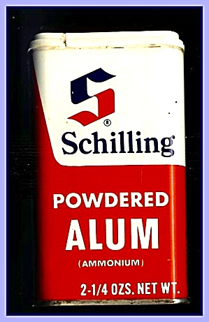 Schilling Powdered Alum Tin, 1970s
