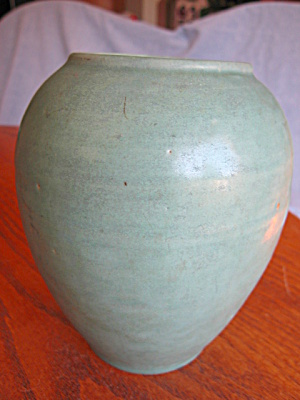 Antique Hand Thrown Vase
