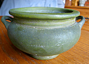 Antique Roseville Matte Green Vase