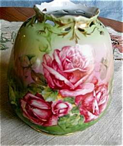 Royal Bayreuth Porcelain Vase