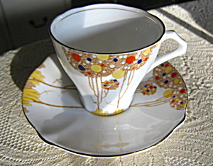 Bell China Enameled Teacup