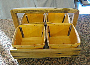 Vintage Primitive Berry Tray