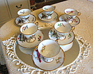 Vintage Ucacgo Bird Teacups