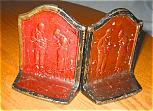 Call To Prayer Antique Bookends
