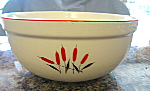 Universal Cambridge Red Cattails Bowl