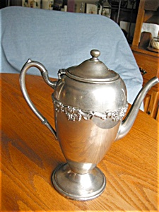 Gotham Silver Plate Coffee Pot