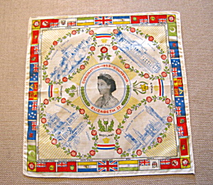 Queen Elizabeth Coronation Hanky