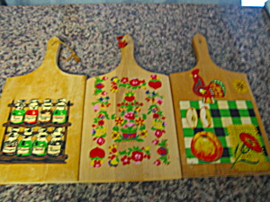 Vintage Wood Cutting Boards