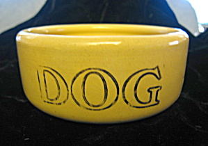 Mason Cash English Dog Bowl