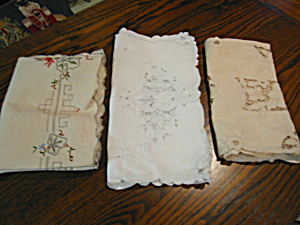 Vintage Doily Assortment