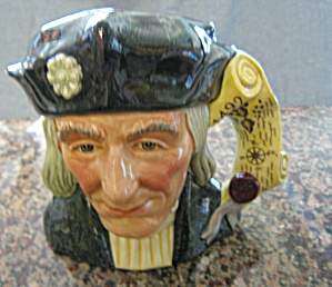 Royal Doulton Christopher Columbus Toby