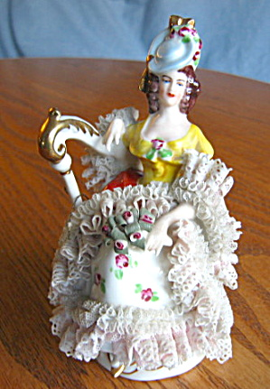 German Dresden Lace Figurine