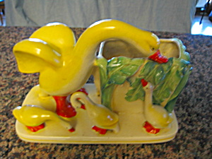 Duck Family Vintage Planter