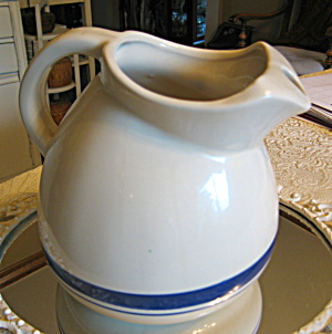 Friendship Pottery Ball Water Pitcher