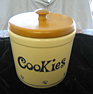 Friendship Pottery Cookie Jar