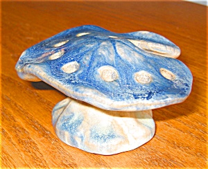 Art Pottery Flower Frog