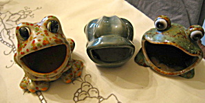 Ceramic Kitchen Frogs