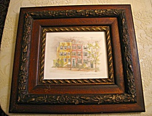 Antique Frame And Georgetown Picture