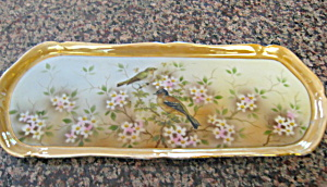Antique German Bird Tray