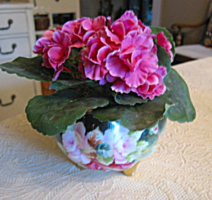 Hohenzollern German Rose Bowl Vase