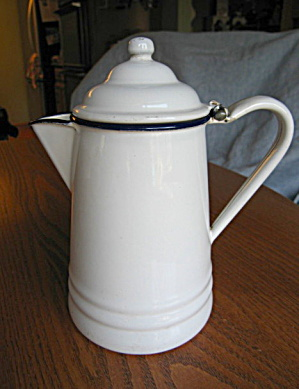 Antique Graniteware Coffeepot