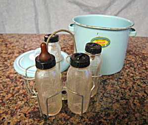 Graniteware Toy Bottle Sterilizer