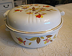 Hall China Covered Casserole Dish