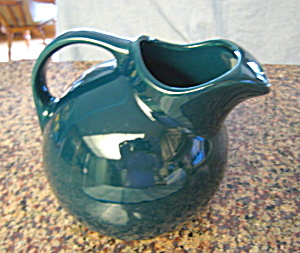 Hall China Ball Pitcher