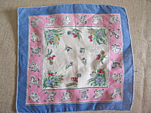 Vintage Child Size Hanky