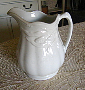 Vintage Weatherby Ironstone Pitcher