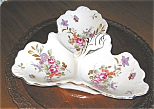 Lefton China Porcelain Trinket Dish