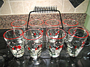 Libbey Glass Set W/carrier
