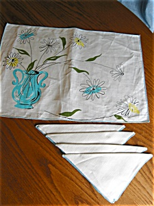 Vintage Placemats And Napkins
