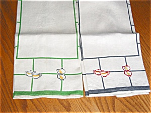 Vintage Retro Kitchen Linens